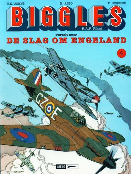 Biggles 4 Biggles vertelt over De slag om Engeland