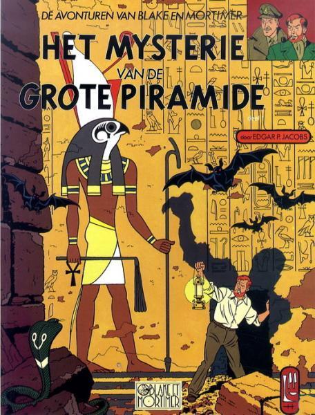 Blake en Mortimer 4 Het mysterie van de grote piramide, Deel 1