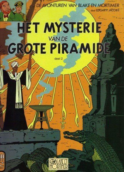 Blake en Mortimer 5 Het mysterie van de grote piramide, Deel 2