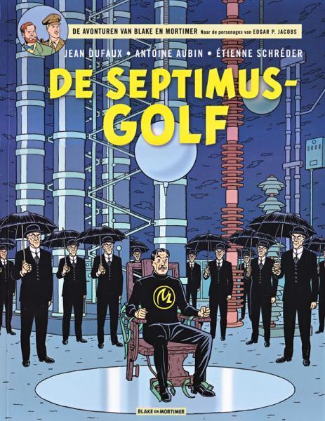Blake en Mortimer 22 De Septimus-golf