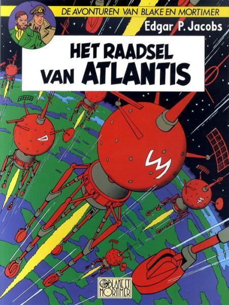 Blake en Mortimer 7 Het raadsel van Atlantis