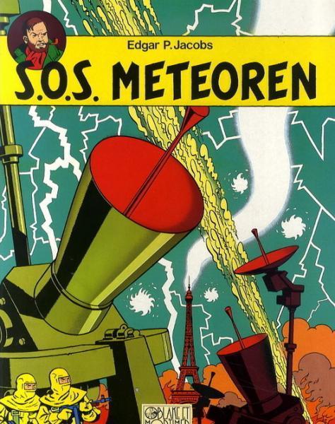 Blake en Mortimer 8 S.O.S. meteoren