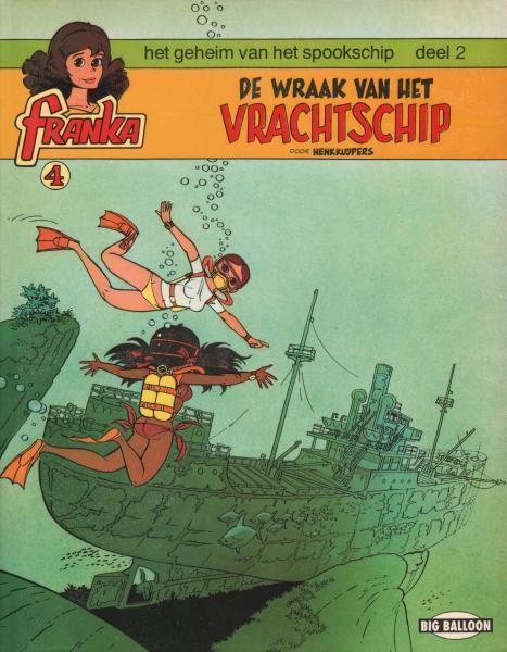 Franka 4 Het geheim van het spookschip Deel 2: De wraak van het vrachtschip