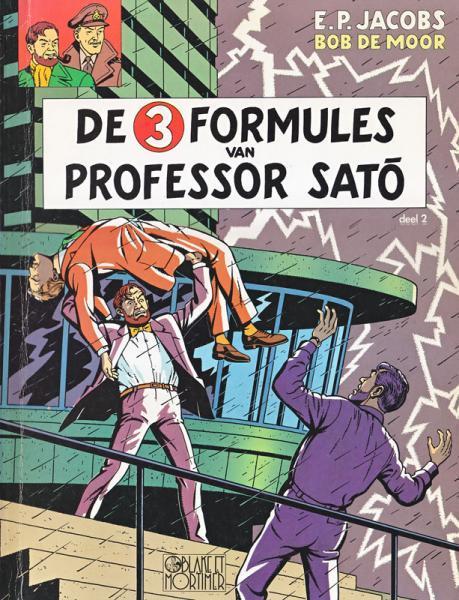 Blake en Mortimer 12 De 3 formules van Professor Satõ, Deel 2