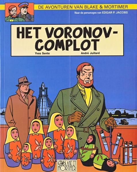Blake en Mortimer 14 Het Voronov-complot