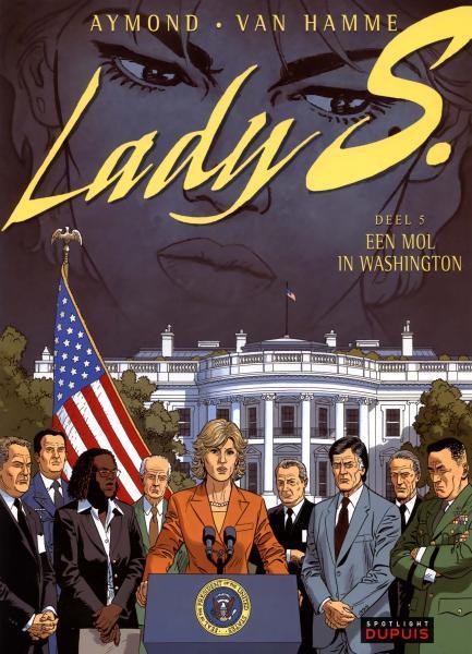 Lady S. 5 Een mol in Washington