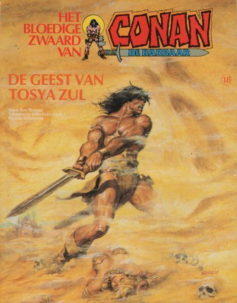 Het bloedige zwaard van Conan de barbaar 18 De geest van Tosya Zul