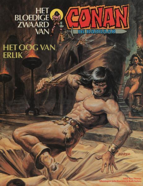 Het bloedige zwaard van Conan de barbaar 17 Het oog van Erlik