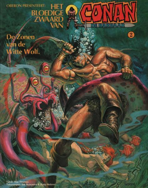 Het bloedige zwaard van Conan de barbaar 2 De zonen van de Witte Wolf