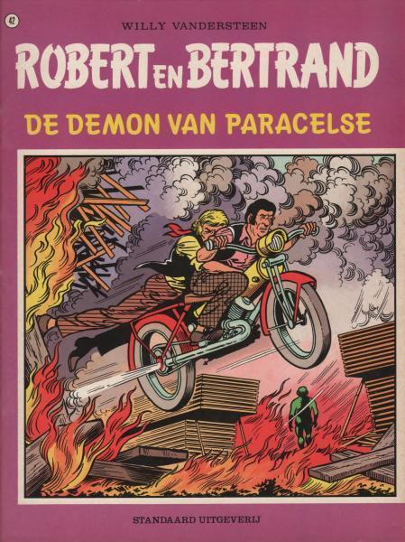 Robert en Bertrand 42 De demon van Paracelse