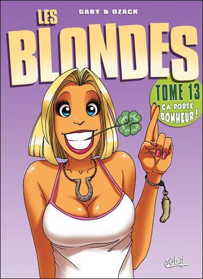 De blondjes 13 Ça porte bonheur!