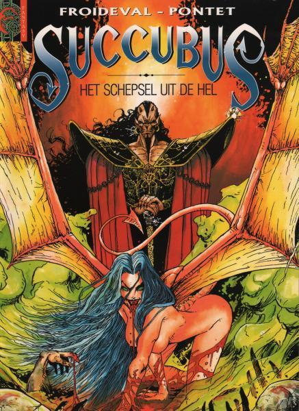 Succubus (Pontet) 1 Het schepsel uit de hel