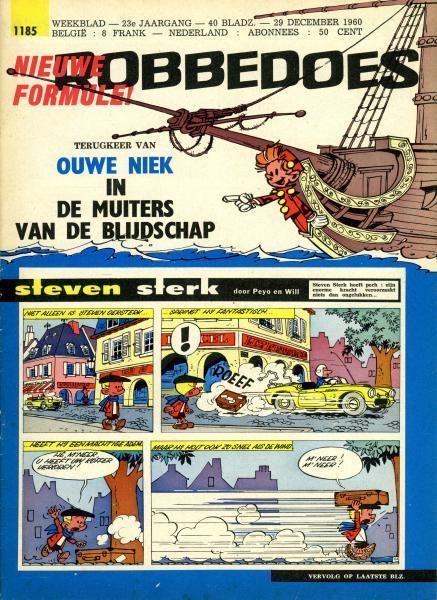 Robbedoes - Weekblad 1960 (jaargang 23) 1185 Nummer 1185