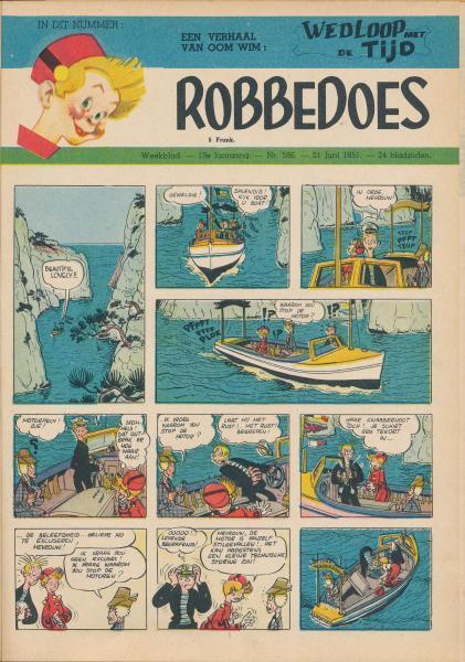 Robbedoes - Weekblad 1951 (jaargang 13) 586 Nummer 586
