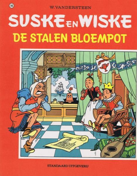 Suske en Wiske 145 De stalen bloempot