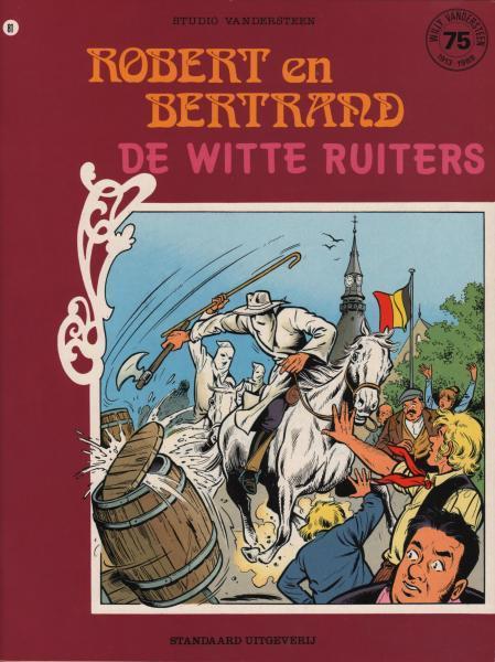 Robert en Bertrand 81 De witte ruiters