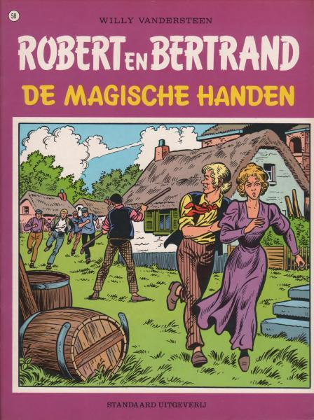 Robert en Bertrand 58 De magische handen