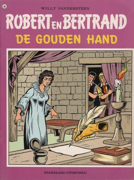 Robert en Bertrand 49 De gouden hand