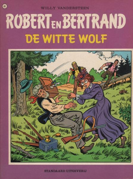 Robert en Bertrand 44 De witte wolf