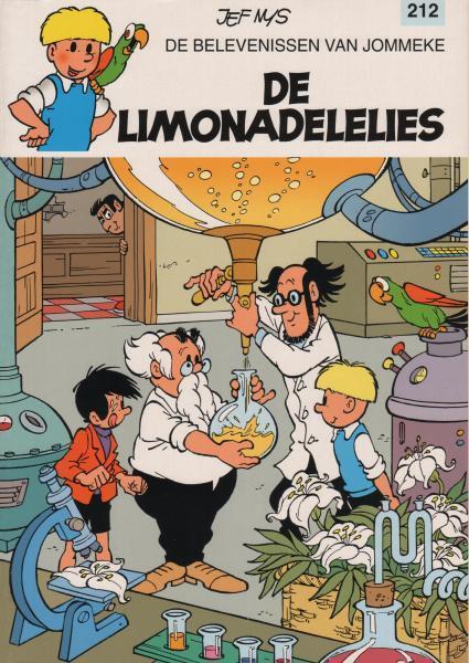Jommeke 212 De limonadelelies