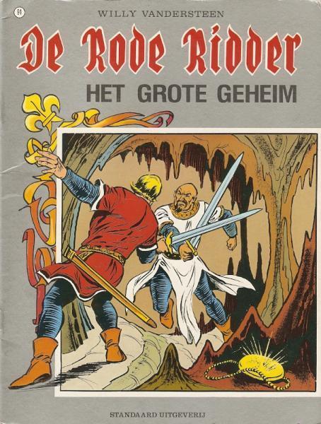 De Rode Ridder 91 Het grote geheim