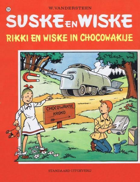 Suske en Wiske 154 Rikki en Wiske in Chocowakije