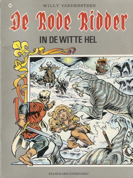 De Rode Ridder 116 In de witte hel