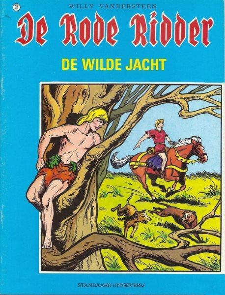 De Rode Ridder 37 De wilde jacht