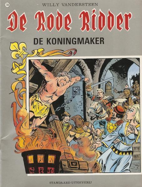 De Rode Ridder 134 De koningmaker