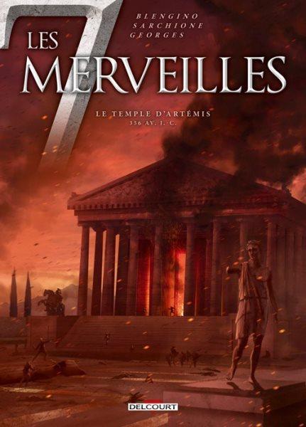 De 7 wonderen 4 Le temple d'Artémis