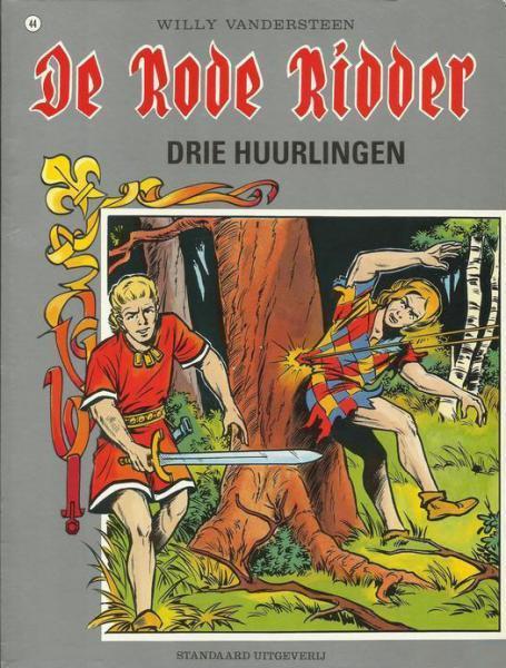 De Rode Ridder 44 Drie huurlingen