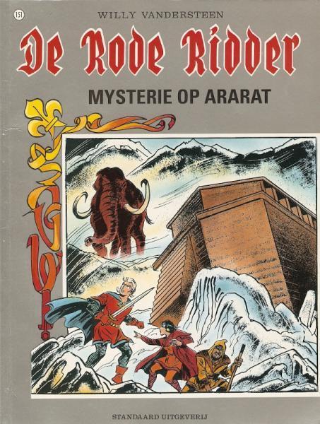 De Rode Ridder 151 Mysterie op Ararat