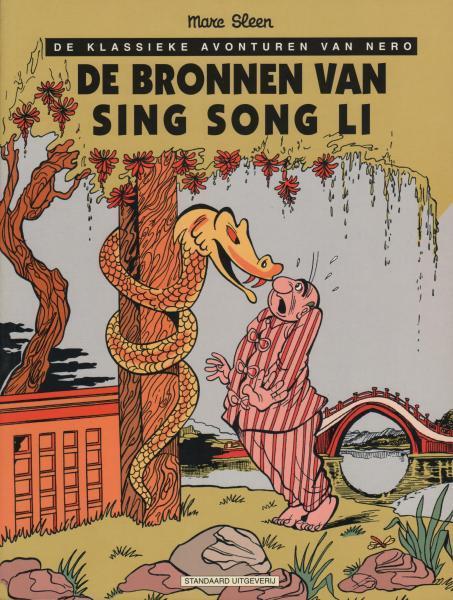 De klassieke avonturen van Nero E12 De bronnen van Sing Song Li