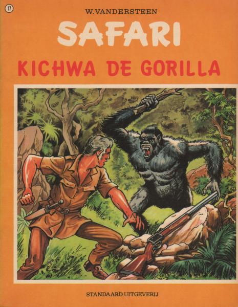 Safari 17 Kichwa de gorilla