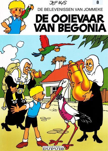 Jommeke 8 De ooievaar van Begonia