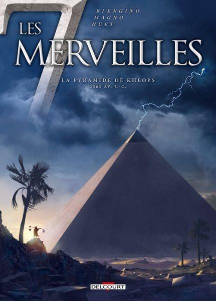 De 7 wonderen 5 La pyramide de Khéops