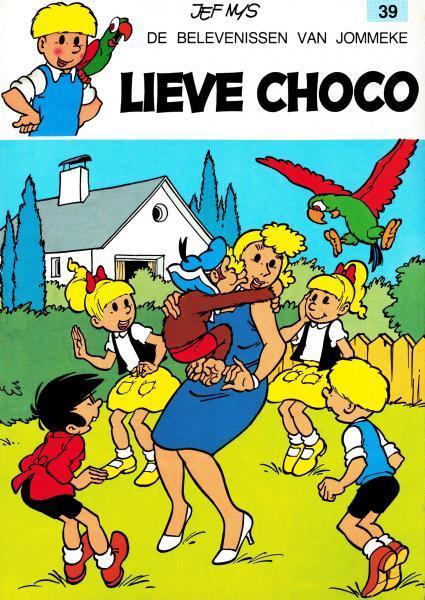 Jommeke 39 Lieve Choco