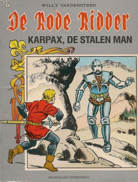 De Rode Ridder 82 Karpax de stalen man