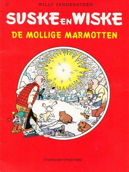 Suske en Wiske (Reclame Albert Heijn) A3 De mollige marmotten