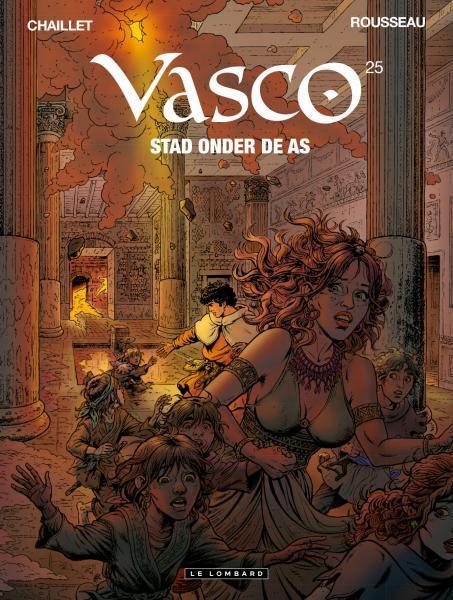 Vasco (Nederlands) 25 Stad onder de as