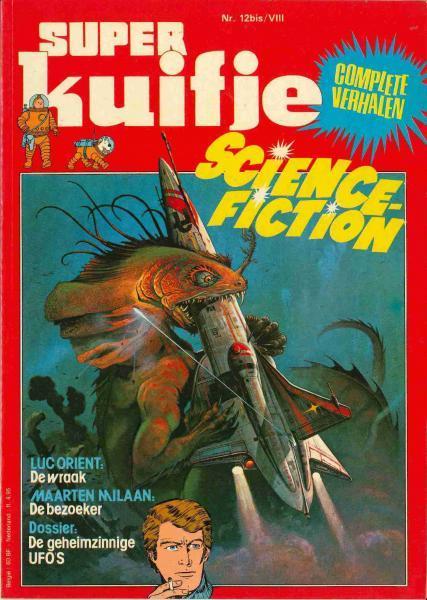 Super Kuifje 8 Science Fiction