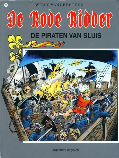 De Rode Ridder 202 De piraten van Sluis
