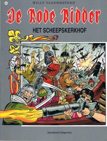 De Rode Ridder 205 Het scheepskerkhof