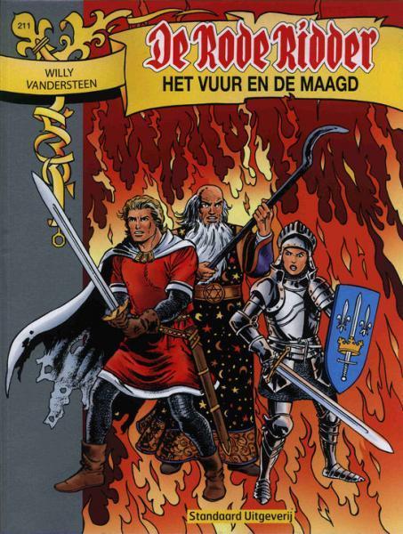 De Rode Ridder 211 Het vuur en de maagd