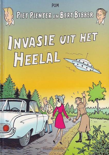 Piet Pienter en Bert Bibber 24 Invasie uit het heelal