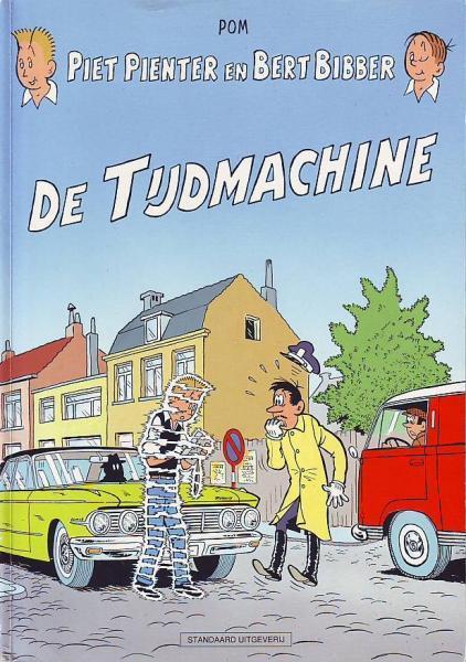 Piet Pienter en Bert Bibber 25 De tijdmachine
