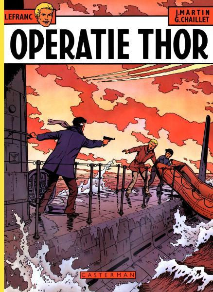 Lefranc 6 Operatie Thor