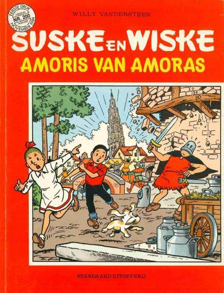 Suske en Wiske 200 Amoris van Amoras