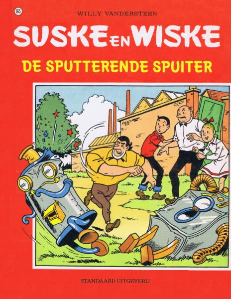 Suske en Wiske 165 De sputterende spuiter