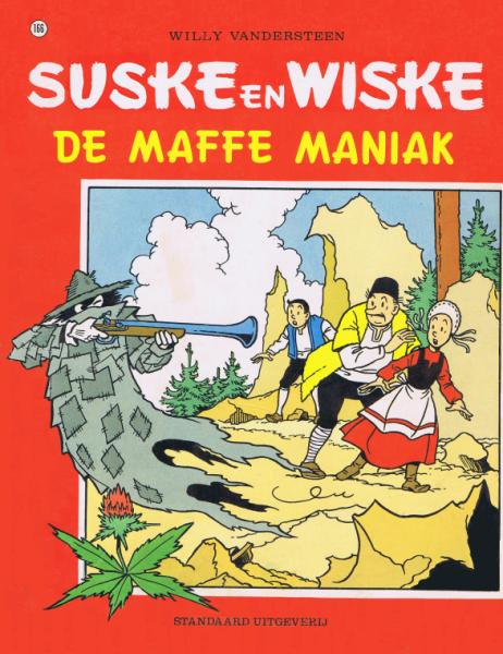 Suske en Wiske 166 De maffe maniak